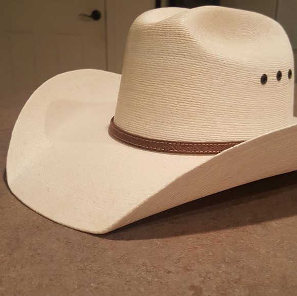 12b558ecf0f13 NEW - Palm Leaf Bob Moorhouse Cowboy Hat. NWT. Atwood